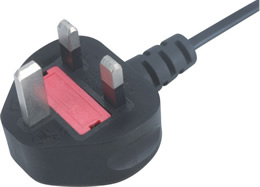 BS1363 Uk ac alimentation secteur heavy duty high impact 13A fondue Rewireable rubber plug