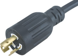 JF715P-A 15A 277V L7-15P Twist Locking Power Cord