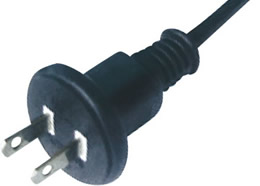 FH-2D Japan JIS 8303 PSE JET 2 Conductor 15A Waterproof Outdoor Plug Power Cord